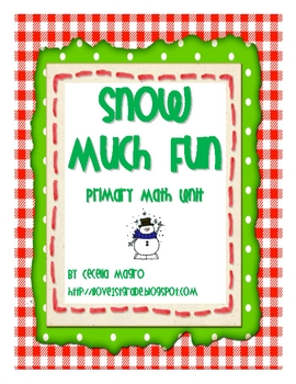Snow Much Fun Math K-1  *CCSS Aligned*