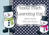 Snow Much Fun: Math and Language Arts Learning Centers