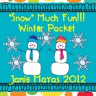 """Snow"" Much Fun Winter Packet"