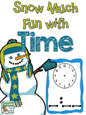 Telling Time:  Snow Much Fun With Time, Activities for 2nd