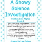 Snow Science Investigation Common Core Aligned