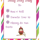 Snow Story Study Winter Literacy Center