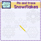 Snow flakes clipart
