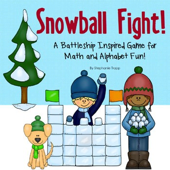 Snowball Fight Game  ~  {Weekend Links} from HowToHomeschoolMyChild.com
