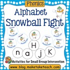 Snowball Fight- Alphabet