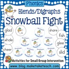 Snowball Fight- Blends and Digraphs