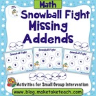 Snowball Fight- Missing Addends