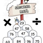 Snowball Math Multiplication and Division