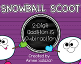 Snowball Scoot {2-Digit Addition and Subtraction} FREEBIE!