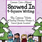 Snowed In 4-Square Writing Organizer *FREEBIE*