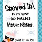 Snowed In! Winter Fry Phrases