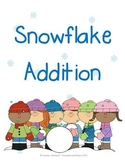 Snowflake Addition Mats - Decomposing Numbers