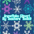 Snowflake Clipart Pack Commercial Use OK