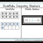 Snowflake Composing Numbers Center Game