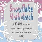 Snowflake Math Match