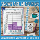 Snowflake Measuring {A Winter Mini Unit!}