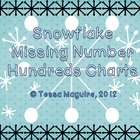 Snowflake Missing Number Hundreds Charts