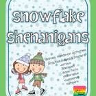 Snowflake Shenanigans {Mega Math Pack} Second Grade Common
