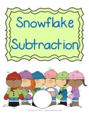 Snowflake Subtraction Mats