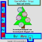 Snowflake Tree Activity