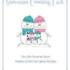 Snowman Counting Pack: Part-Part-Whole Addition and Counti