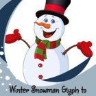 Snowman Glyph with Questions