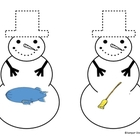 Snowman Matching: Blends, DIgraphs, Trigraphs