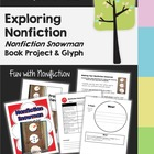Snowman Non-fiction Book Project (Writing &amp;  Glyph) with Rubric