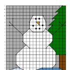 Snowman Ordered Pairs Practice Activity Winter Christmas Holiday