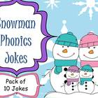 Snowman Phonics Jokes
