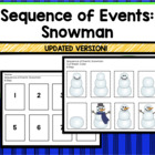 Snowman Sequencing: Building a Snowman
