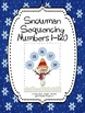 Snowman Sequencing Numbers 1-120