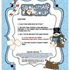 Snowman Soup Sight Word Sentence Game for Kindergarten Thr
