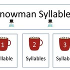 Snowman Syllables