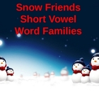 Snowman/Winter Themed Short Vowel Word Families