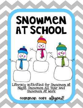 Snowmen At Night Series Lit Activities
