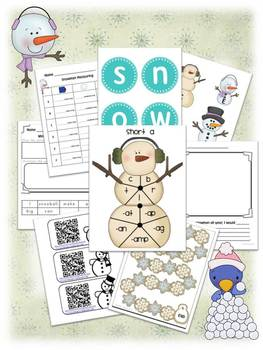 Snowmen, Snowballs, and More Winter Fun