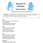 Snowmen at Christmas Reader&#039;s Theatre