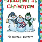 Snowmen at Christmas activity pack