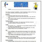 Snowstorm Snow Day Creative Activities for Students