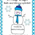 Snowy Days Math and Literacy Activities