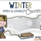 Snowy Math and Literacy Centers