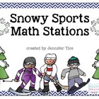 Snowy Sports Math Stations