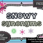 Snowy Synonyms