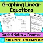 So you have to teach Graphing Linear Equations?!Guided not