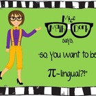 So you want to be Pi-lingual?  Posters, Information & task