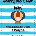 Soaring Into A New Year! (A Back to School Craftivity Pack}