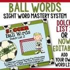 Soccer Ball Word Champs-Dolch 2:Classroom Tested Sight Word CCSS