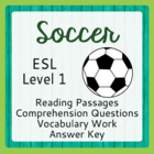 Soccer, The Beautiful Game (ESL 1)