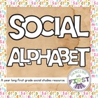 Social Alphabet- A year of teaching activities